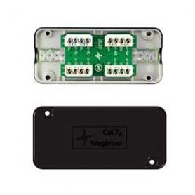 Samlebokse. IP54 udtag. DIN skinne adaptere. RJ45 stik til PDS inst. kabel