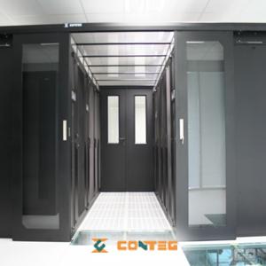 Rack, kuber, in-row køl til serverrum og datacentre