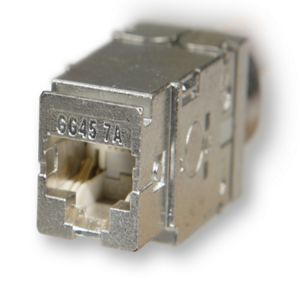 Nexans - Cat 7A/Cat 8 -25G/40G - GG45 snapin konnektor