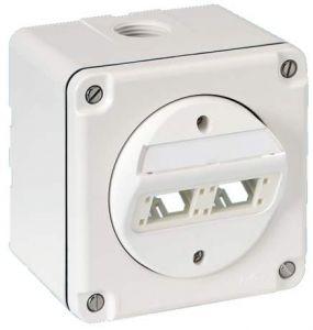 IP54 Vægbox for 2xRJ45